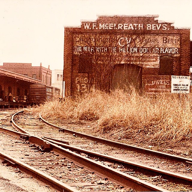 Do you see what we see? Thanks to Daniel Gootee for sharing this piece of #champagnevelvet history with us! Photo: Athens, GA around Foundry and Broad Streets mid 1980s #cheers #tbt #throwbackthursday
