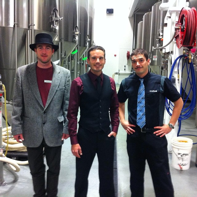 Brew crew lookin dapper for the 1000th brew today.