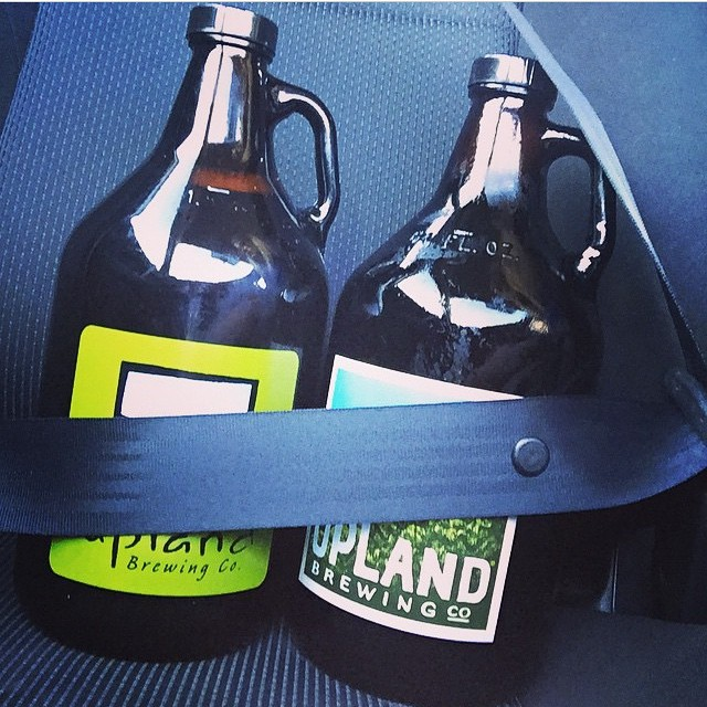 Protect that precious cargo. #cheers to the weekend! #regram @jeahowar #growlers