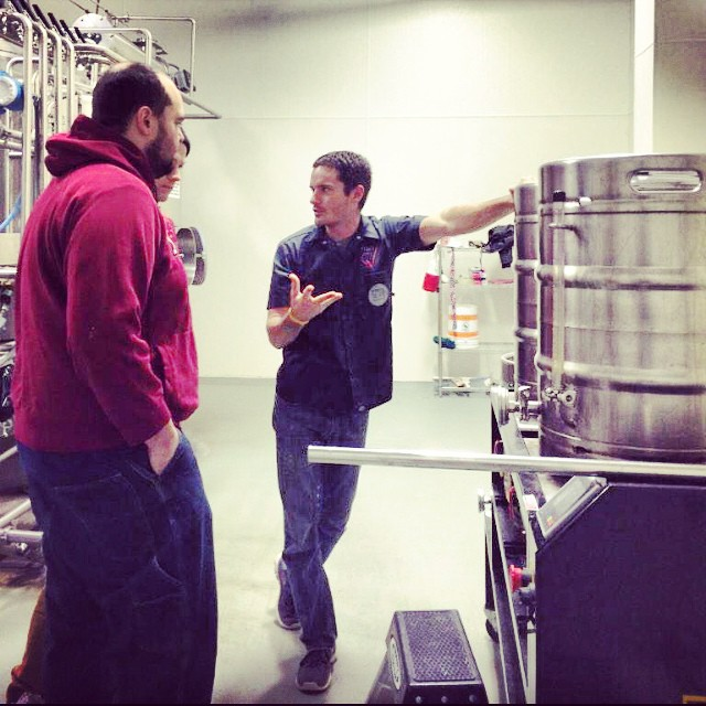 #brewday with @barn_brasserie! Stay tuned for beer dinner in February featuring this beer. #cheers #INbeer