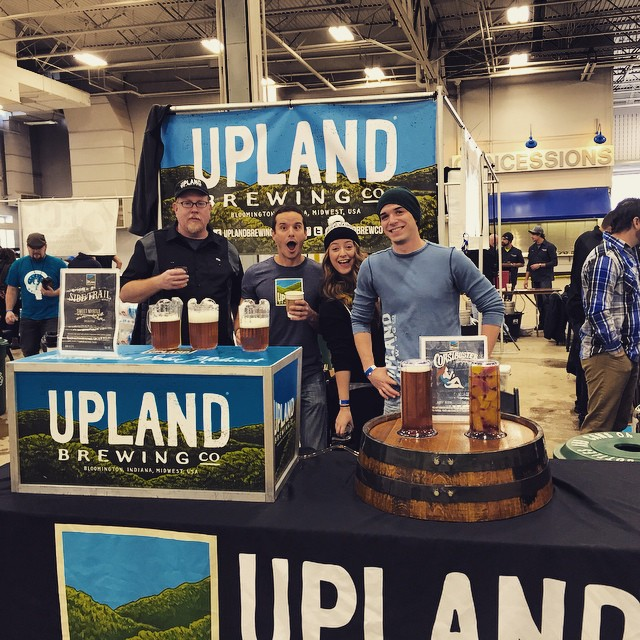 We're ready for you #IndyWinterfest! Come see us Section B table 10! #cheers #craftbeer