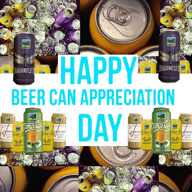 Happy 80th Birthday to the beer can! Respect your elders and raise a can. #cheers #craftbeer #beercanappreciationday