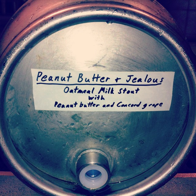 Oh snap.... to be tapped at #Winterfest. See you there! #craftbeer #cask #uplandbrewco
