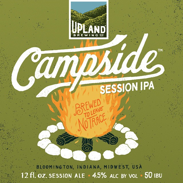 On tap today!! #CampsideIPA #craftbeer