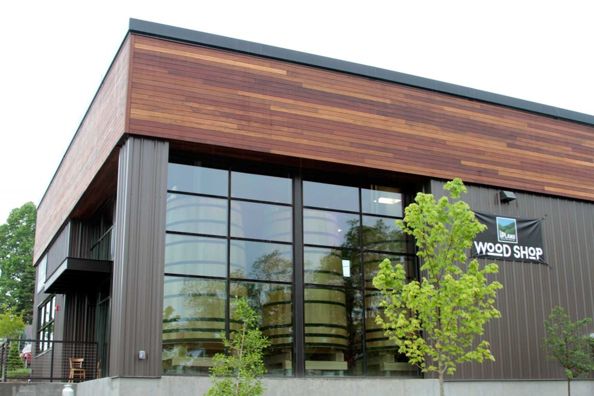 Upland Brewing Wood Shop