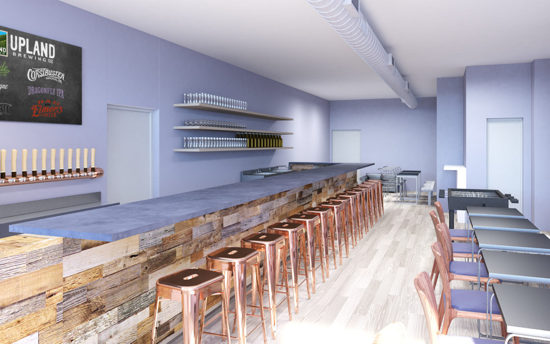 College Ave. Tasting Room Renovations