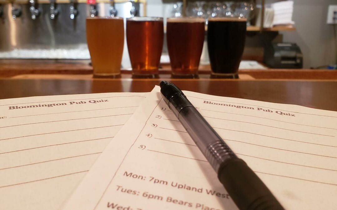 Bloomington Pub Quiz at Upland